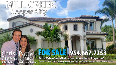 Mill Creek Cooper City Homes For Sale